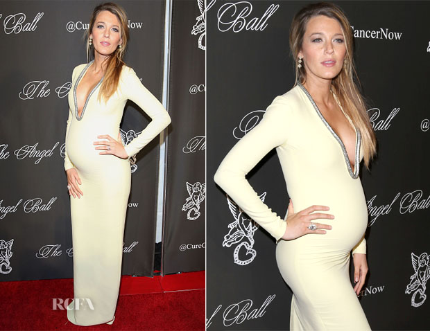 Blake Lively In Gucci - Angel Ball 2014