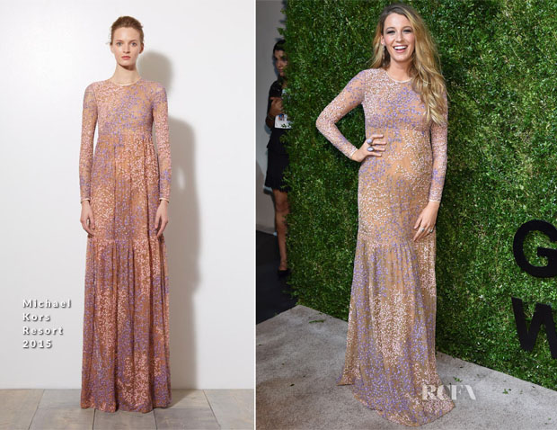 Blake Lively In Michael Kors - God's Love We Deliver Golden Heart Awards Gala
