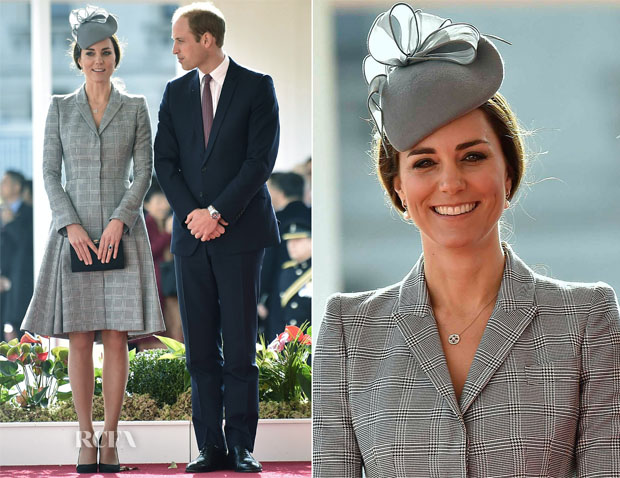 Catherine, Duchess of Cambridge In Alexander McQueen - The President Of The Republic Of Singapore's State Visit To The UK