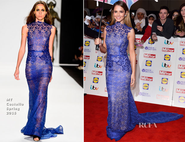 Cheryl Fernandez-Versini In MT Costello - 2014 Pride of Britain Awards