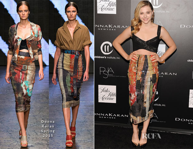 Chloe Grace Moretz In Donna Karan - 5th annual PSLA Autumn Party
