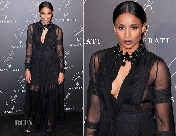 Ciara In Givenchy - CR Fashion Book Issue N°5 Launch Party