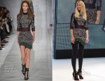 Claudia Schiffer In Antonio Berardi - Opel Corsa Launch