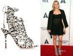 Diane Kruger's Sophia Webster Lacey Printed Leather Sandals