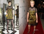Dianna Agron In Marc Jacobs - The Brian Bowen Smith WILDLIFE Show