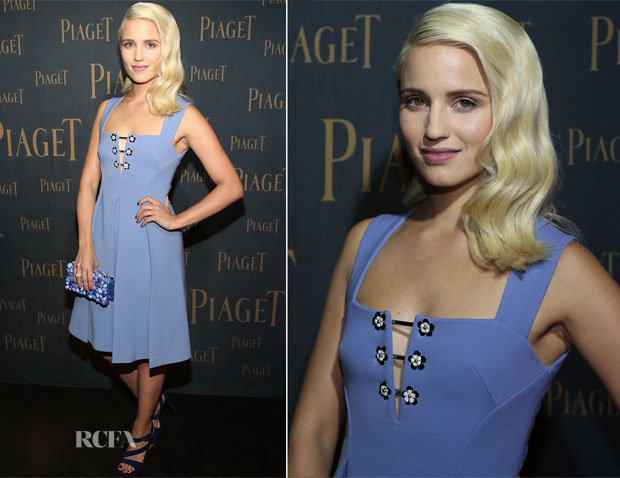 Dianna Agron In Miu Miu - Extremely Piaget Launch Event