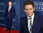 Eddie Redmayne In Alexander McQueen - 'The Theory Of Everything' LA Premiere