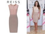 Elizabeth Hurley's Reiss 'Rio' Two-Tone Dress