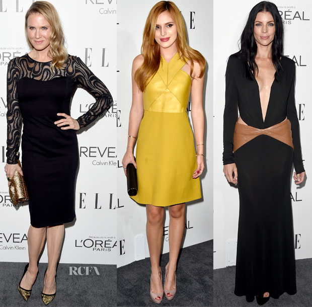 Elle's 21st Annual Women In Hollywood Celebration Red Carpet Roundup