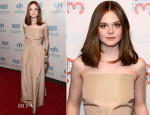 Elle Fanning In Rochas - 'Low Down' Mill Valley Film Festival Screening