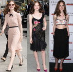 Elle Fanning In Jenny Packham & Creatures of the Wind  - 'Young Ones' New York Promo Tour