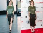 Emma Stone In Jason Wu - 'Birdman Or The Unexpected Virtue Of Ignorance' New York Film Festival Closing Night Gala Presentation