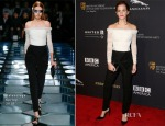 Emma Watson In Balenciaga - BAFTA Los Angeles Jaguar Britannia Awards