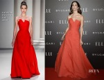 Eugenia Silva In Carolina Herrera - Elle Style Awards 2014