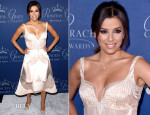 Eva Longoria In Gabriela Cadena - 2014 Princess Grace Awards Gala