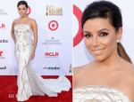 Eva Longoria's Seven Wardrobe Changes For The 2014 NCLR ALMA Awards