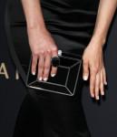 Stana Katic's Ferragamo clutch