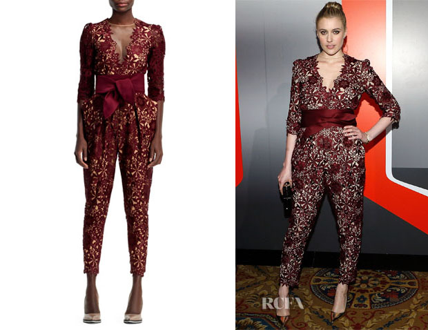 Greta Gerwig's Stella McCartney Flower Lace Jumpsuit