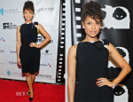 Gugu Mbatha-Raw In Lanvin - 'Beyond The Lights' Chicago International Film Festival Screening