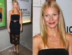 Gwyneth Paltrow In Monique Lhuillier - 'The Country House' Opening Night