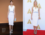 Gwyneth Paltrow In Roland Mouret - The Academy Hosts Hollywood Costume Private Luncheon