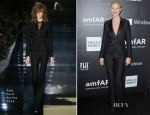 Gwyneth Paltrow In Tom Ford - 2014 amfAR LA Inspiration Gala