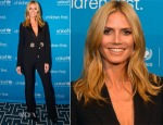 Heidi Klum In Roberto Cavalli - 2014 UNICEF Children's Champion Award Dinner