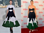 Hilary Swank In Delpozo - 'The Homesman' Hamptons International Film Festival Premiere