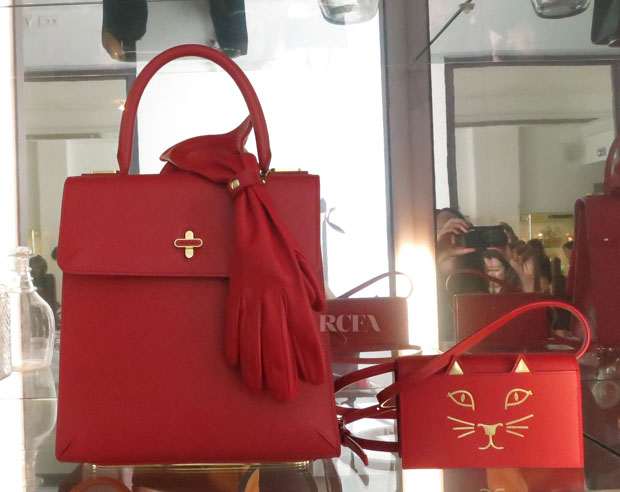 Charlotte Olympia Handbags For The Leading Lady Collection