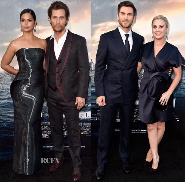 'Interstellar' LA Premiere Menswear Roundup