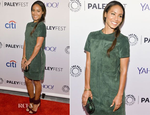Jada Pinkett Smith In Proenza Schouler - Gotham Panel At PaleyFest NY