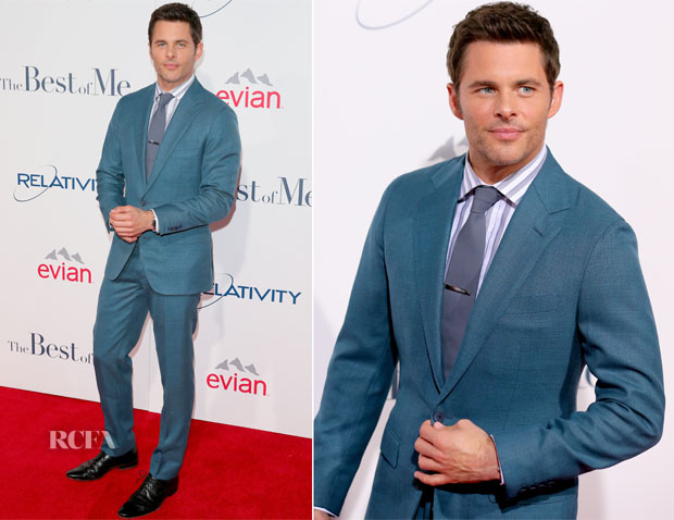 James Marsden In Thom Sweeney - 'The Best Of Me'  LA Premiere