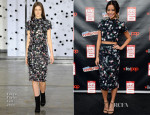 Jamie Chung In Tanya Taylor - New York Comic-Con