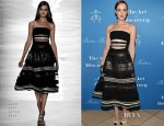 Jena Malone In Reem Acra - International Medical Corps' Annual Awards Dinner Ceremony