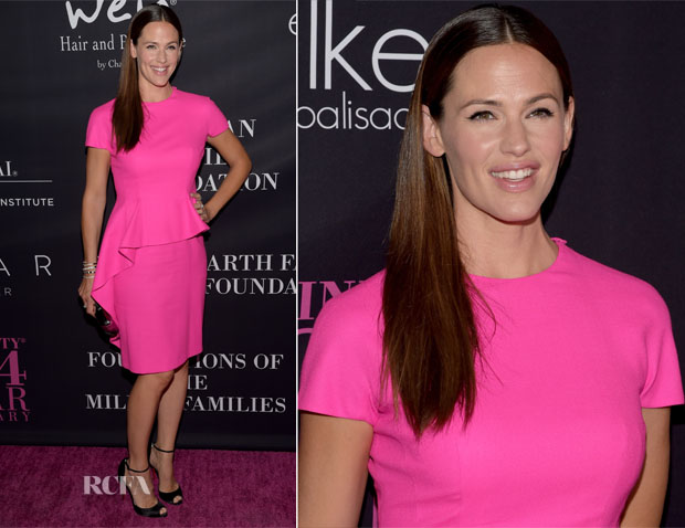 Jennifer Garner In Christian Dior - 10th Anniversary Pink Party