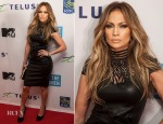 Jennifer Lopez In Jitrois - 'We Day Vancouver'