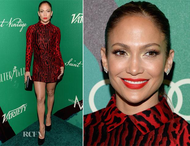 Jennifer Lopez In Valentino - 2014 Variety Power of Women Event