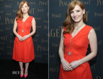 Jessica Chastain In Christian Dior - Extremely Piaget Launch Event