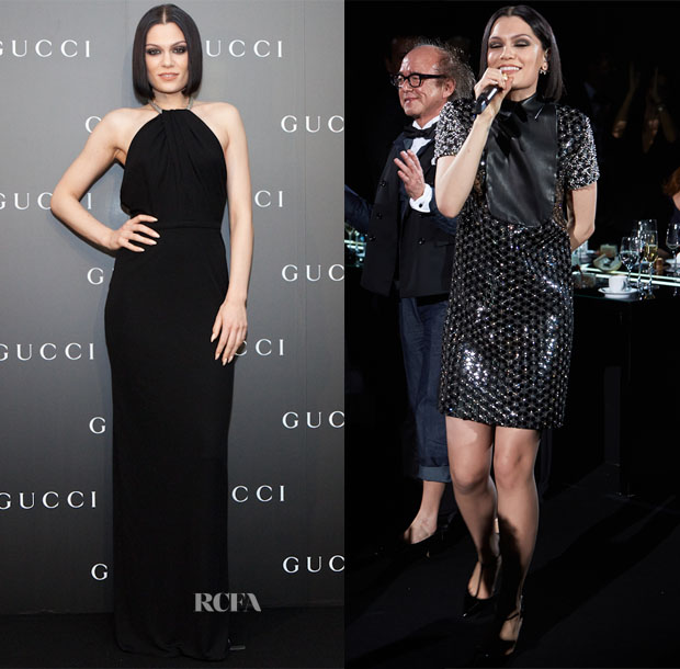 Jessie J In Gucci - National Federation of UNESCO Associations In Japan Charity Gala