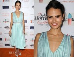 Jordana Brewster In Vionnet - No Kid Hungry Campaign Fundraising Dinner