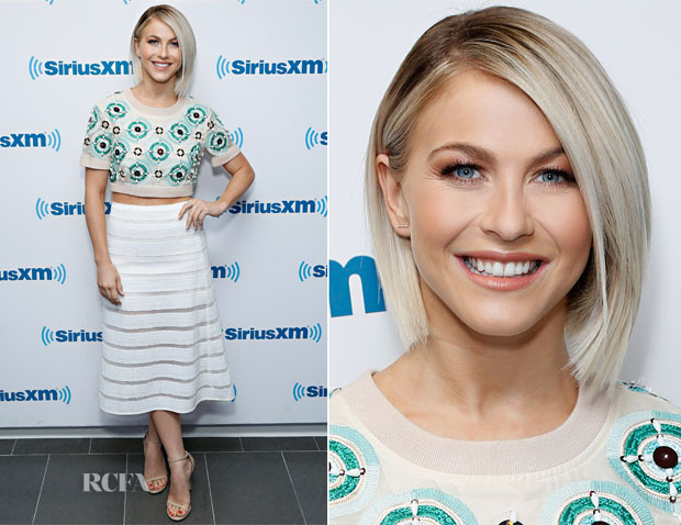 Julianne Hough In DKNY - SiriusXM Studios