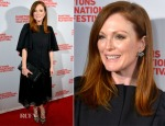 Julianne Moore In Balenciaga & Christopher Kane - 'Still Alice' Hamptons Film Festival Premiere