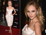 Juno Temple In Vivienne Westwood Couture - 'Horns' LA Premiere