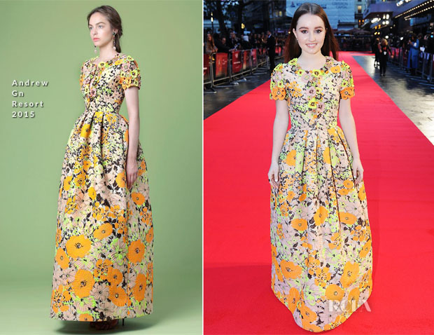 Kaitlyn Dever In Andrew Gn - 'Men, Women & Children' London Premiere