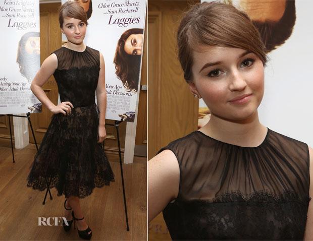 Kaitlyn Dever In Oscar de la Renta - 'Laggies' New York Premiere