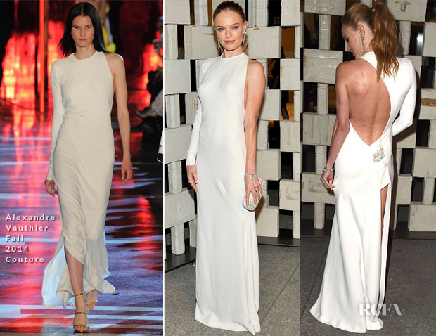 Kate Bosworth In Alexandre Vauthier Couture - Hammer Museum 12th Annual Gala In The Garden