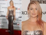 Kate Hudson In Jenny Packham - American Cinematheque 28th Annual Award Presentation To Matthew McConaughey