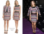 Katharine McPhee In Shoshanna -  Infiniti of Beverly Hills Grand Opening