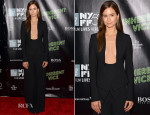 Katherine Waterston In Altuzarra -  'Inherent Vice' New York Film Festival Premiere