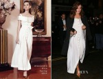 Keira Knightley In Alessandra Rich - Mario Testino's Birthday Party
